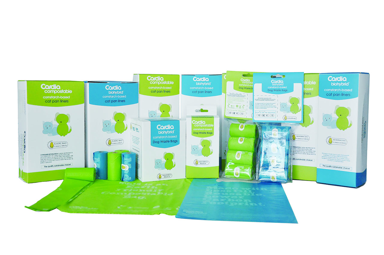 Biodegradable & Compostable pet waste bags