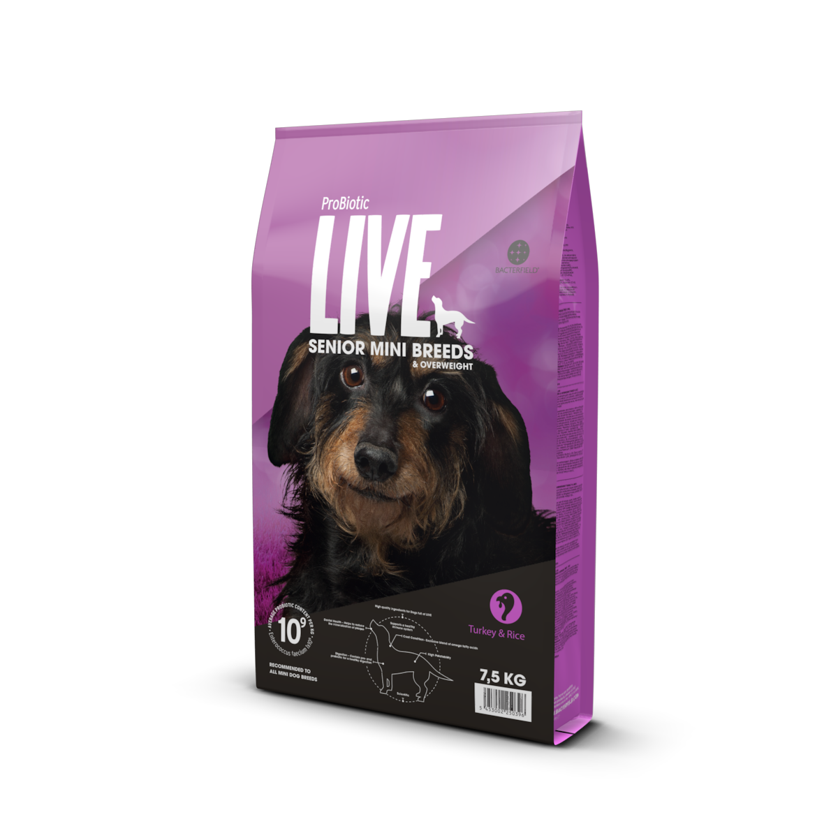 ProBiotic LIVE Senior Mini Breeds & Overweight