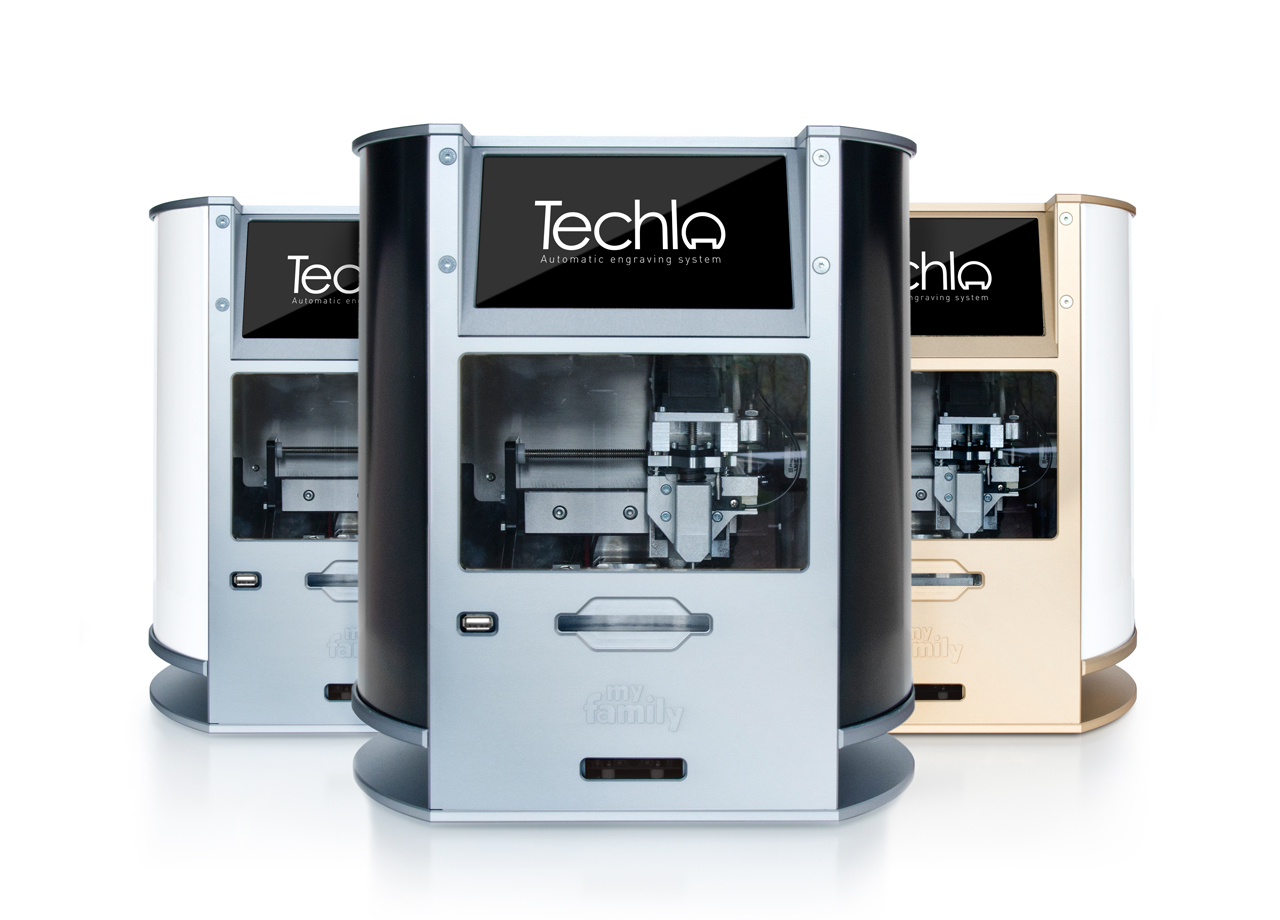Techla Automatic Engraving Machine