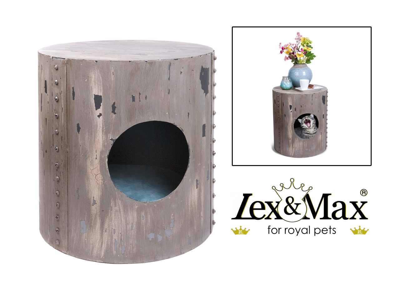 Lex&Max cat house Industrial-look