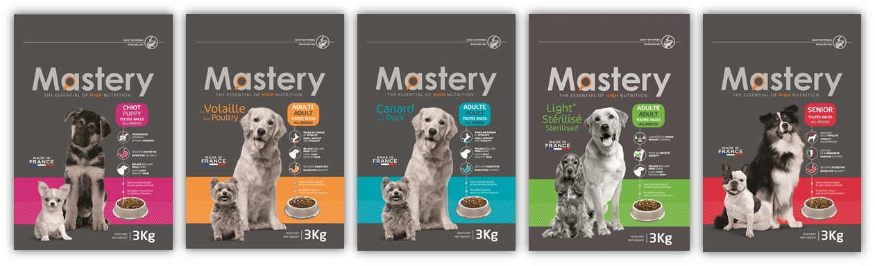 Mastery Super Premium pet food