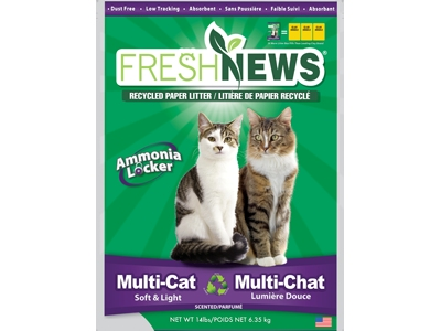 NUOVA LETTIERA MULTI-CAT FRESH NEWS