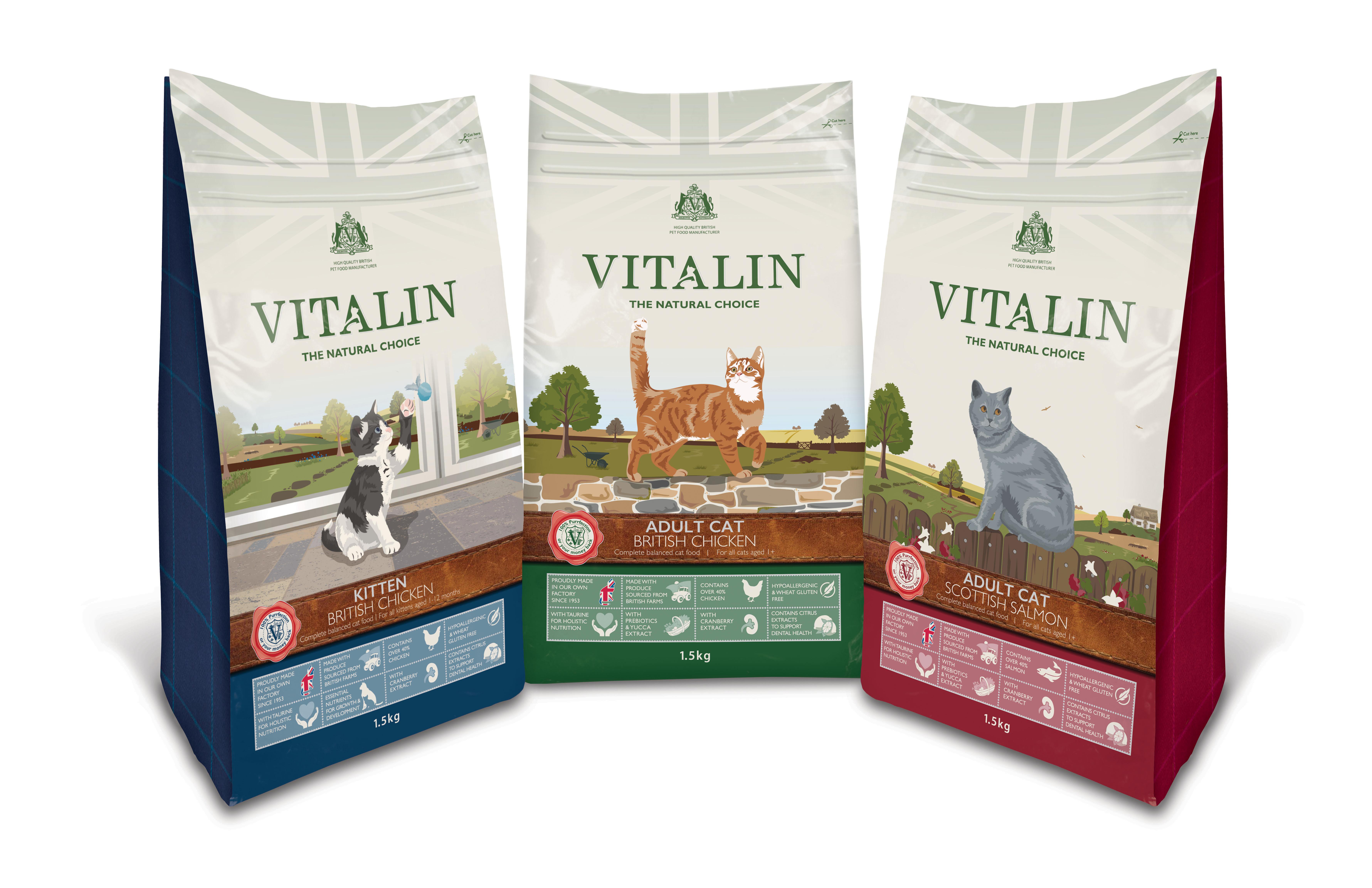 Vitalin Natural Cat